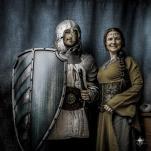 chevalier et dame Lours