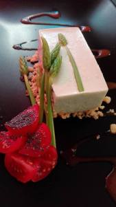 Cheesecake aux asperges