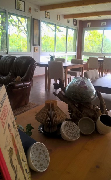 Petit zoom sur la salle du restaurant