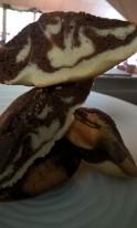 Les cakes marbrés du salon de thé